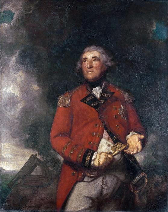 Sir Joshua Reynolds - Lord Heathfield of Gibraltar. Part 6 National Gallery UK
