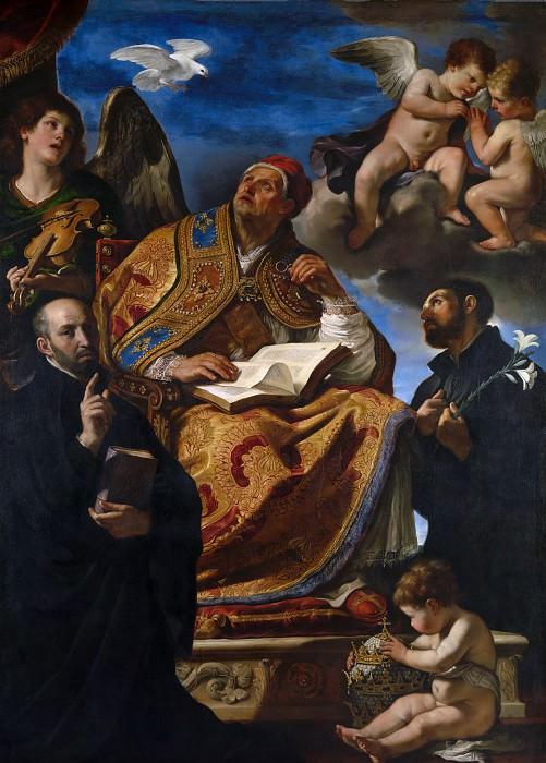 Гверчино - Святой Григорий Великий с иезуитскими святыми. Часть 6 Национальная галерея