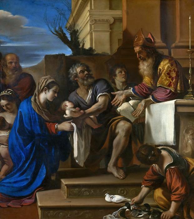 Гверчино - Введение во храм. Часть 6 Национальная галерея