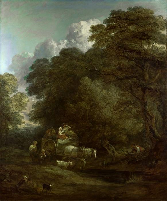 Thomas Gainsborough - The Market Cart. Part 6 National Gallery UK