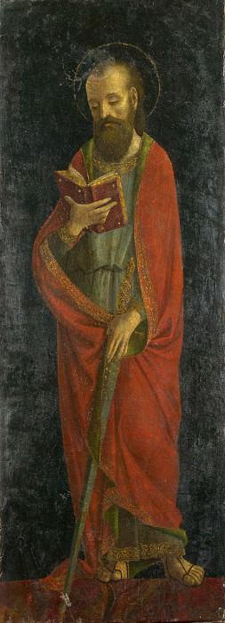 Амброджо Бергоньоне (манера) - Святой Павел. Часть 6 Национальная галерея