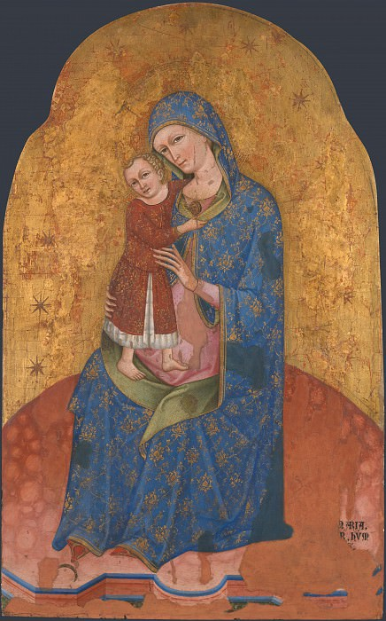 Dalmatian - The Virgin and Child. Part 2 National Gallery UK