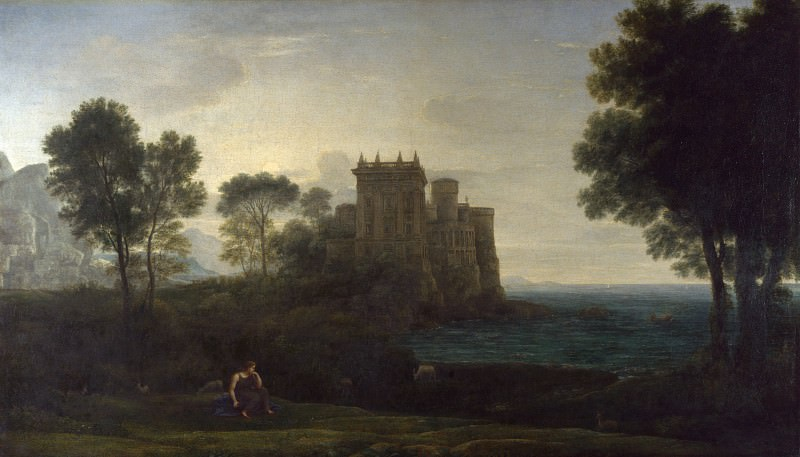 Claude - The Enchanted Castle. Part 2 National Gallery UK