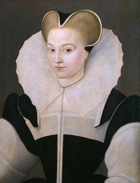 French - Portrait of a Young Lady. Part 2 National Gallery UK