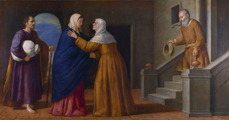 French or North Italian - The Visitation. Part 2 National Gallery UK