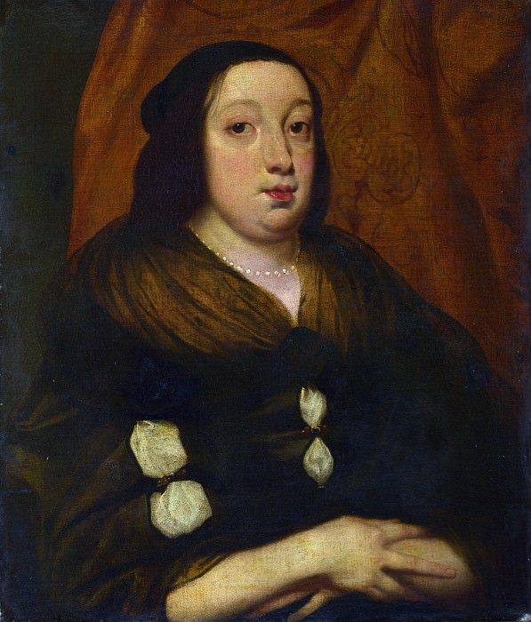 Flemish - Portrait of an Elderly Woman. Part 2 National Gallery UK