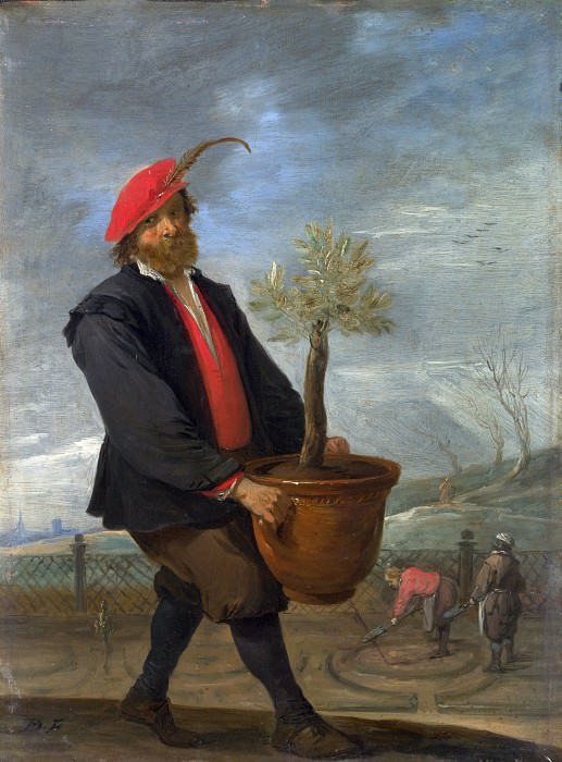 David Teniers the Younger - Spring. Part 2 National Gallery UK