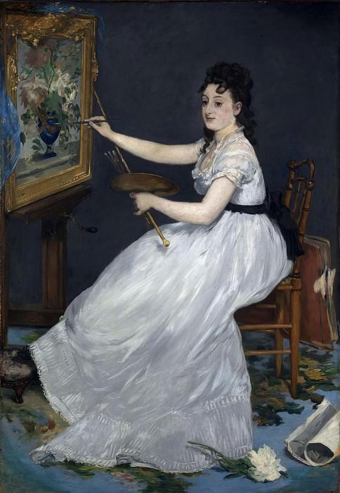Edouard Manet - Eva Gonzales. Part 2 National Gallery UK
