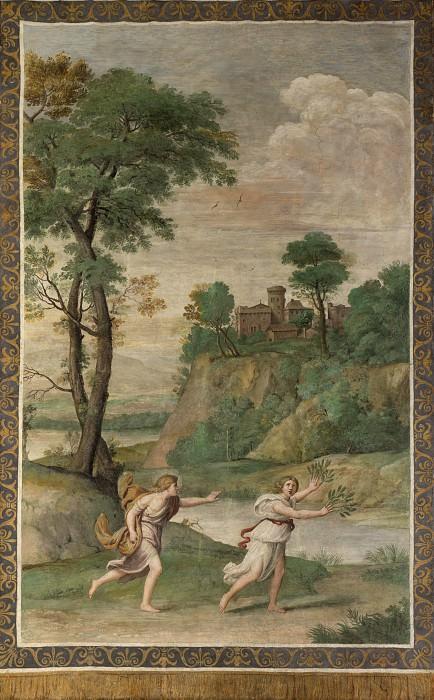 Доменикино и помощник - Аполлон, преследующий Дафну. Часть 2 Национальная галерея