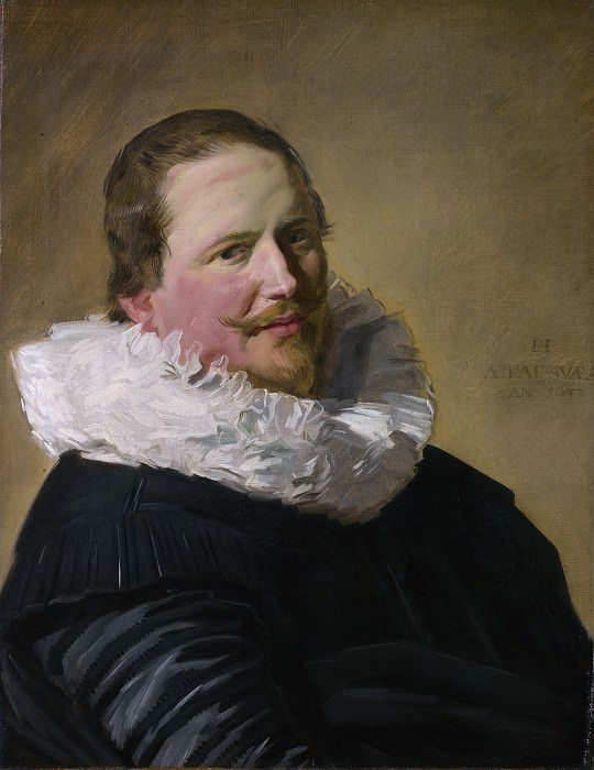 Frans Hals - Portrait of a Man in his Thirties. Part 2 National Gallery UK