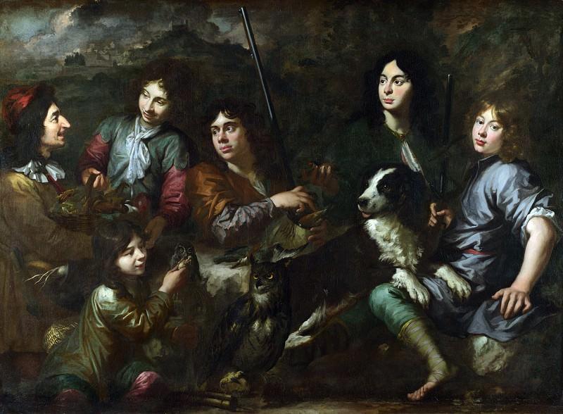 Dutch - Sportsmen Resting. Part 2 National Gallery UK