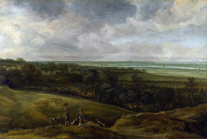 Cornelis van der Schalcke - An Extensive River Landscape. Part 2 National Gallery UK