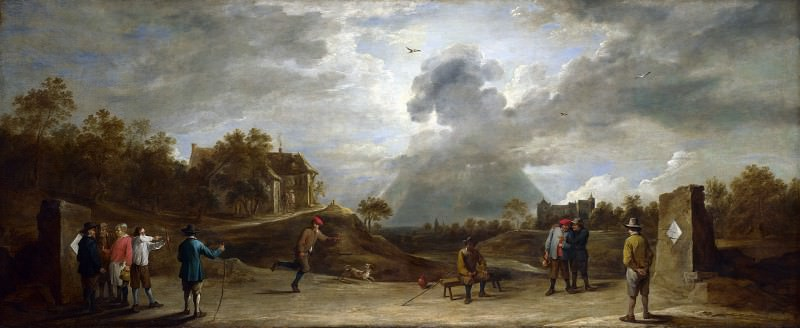 David Teniers the Younger - Peasants at Archery. Part 2 National Gallery UK