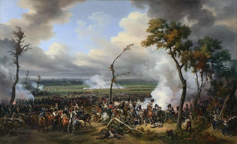 Эмиль-Жан-Орас Верне - Сражение при Ханау. Часть 2 Национальная галерея