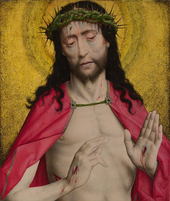 Dirk Bouts - Christ Crowned with Thorns. Part 2 National Gallery UK