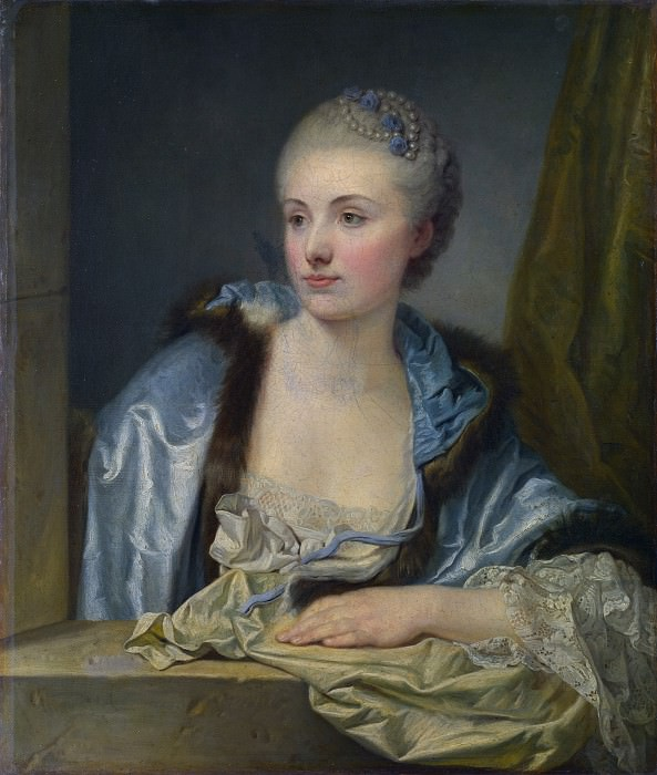 French - Portrait of a Lady (Madame de Gleon). Part 2 National Gallery UK