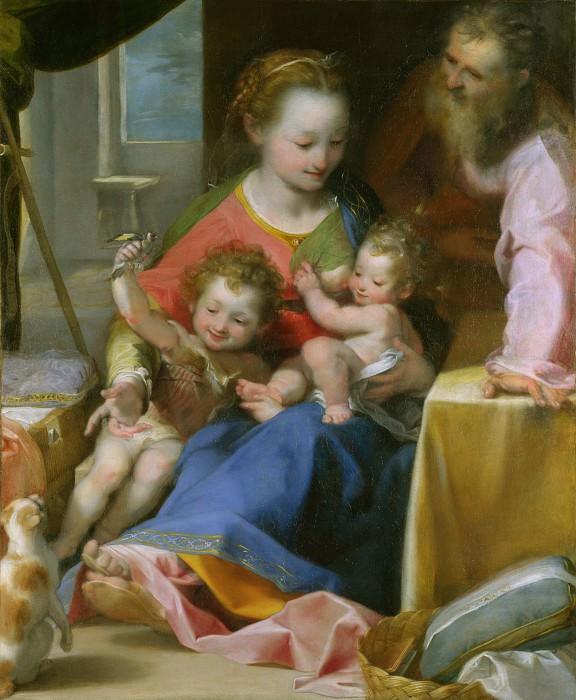 Federico Barocci - The Madonna of the Cat (La Madonna del Gatto). Part 2 National Gallery UK