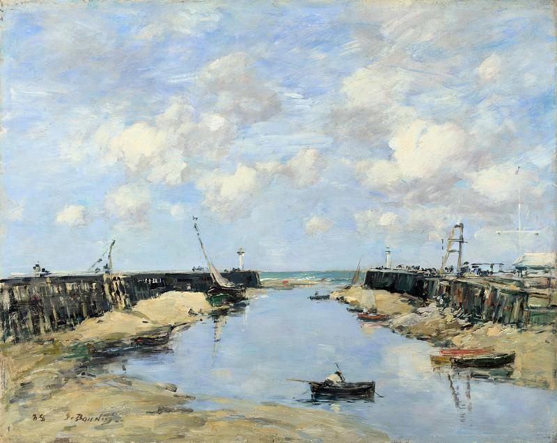 Эжен Буден - Вход в гавань Трувилля. Часть 2 Национальная галерея
