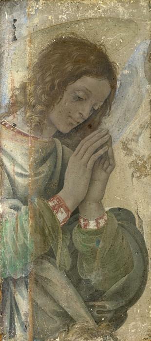 Филиппино Липпи - Поклоняющийся ангел. Часть 2 Национальная галерея