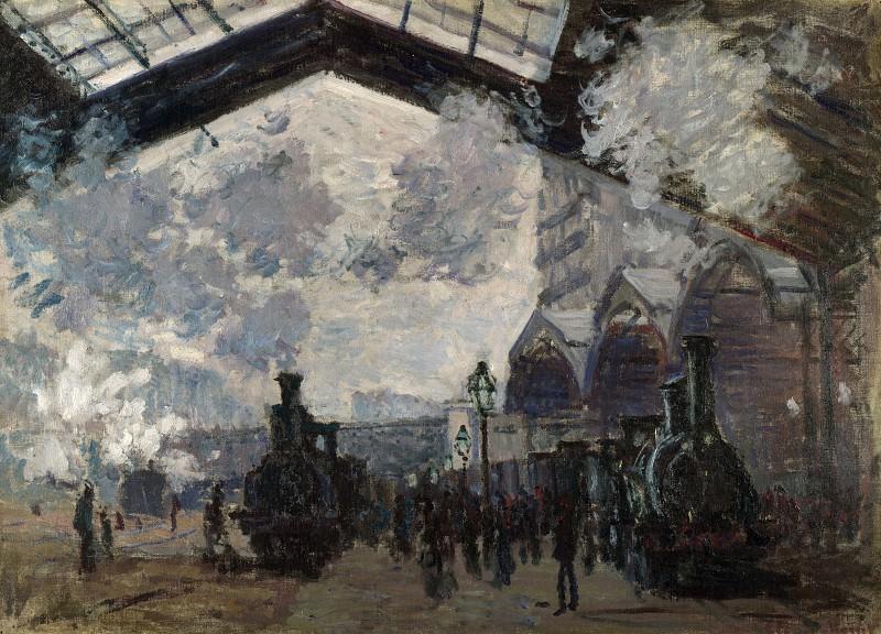 Колод-Оскар Моне - Вокзал Сен-Лазар. Часть 2 Национальная галерея