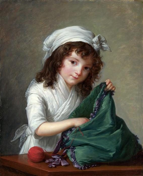 Mademoiselle Brongniart. Élisabeth Louise Vigée Le Brun