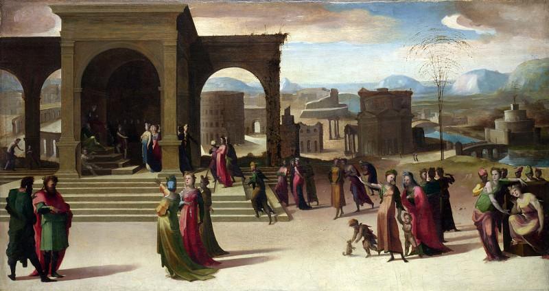 Доменико Беккафуми - История Папирия. Часть 2 Национальная галерея