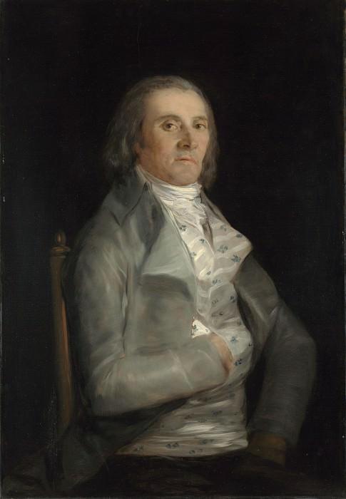 Francisco de Goya - Don Andres del Peral. Part 2 National Gallery UK