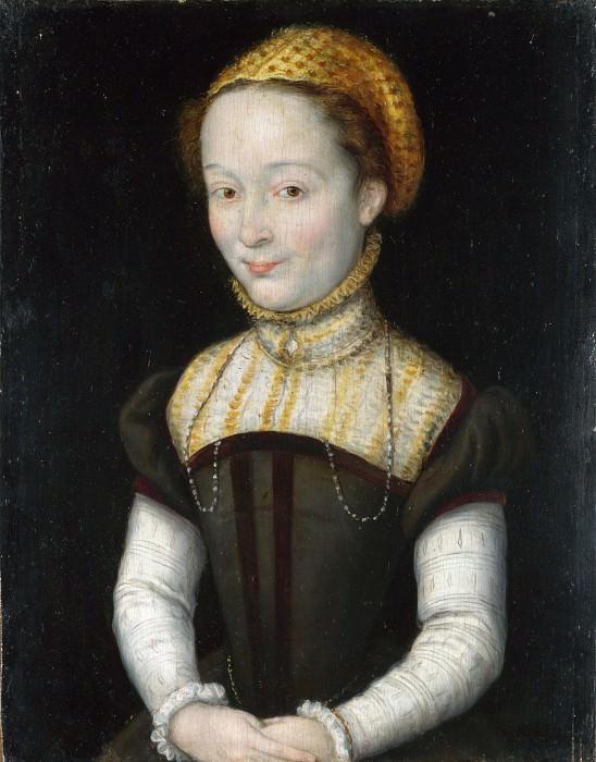 Corneille de Lyon - Portrait of a Woman. Part 2 National Gallery UK