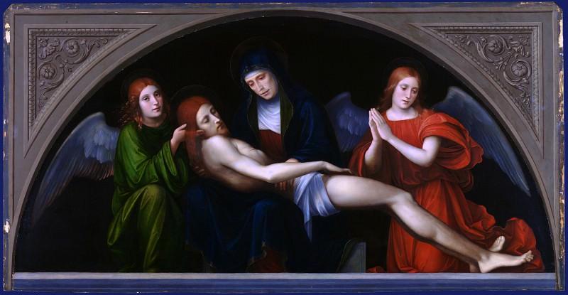 Francesco Francia - Pieta. Part 2 National Gallery UK