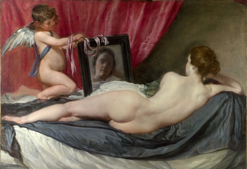 Diego Velazquez - The Toilet of Venus (The Rokeby Venus). Part 2 National Gallery UK