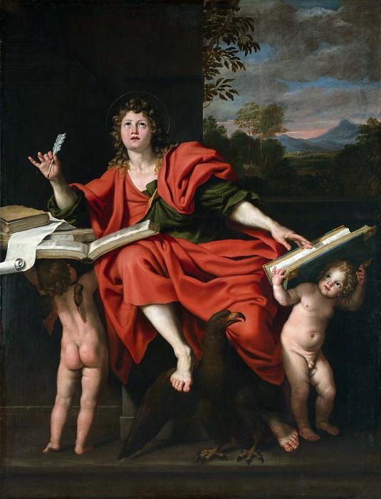 Domenichino - Saint John the Evangelist. Part 2 National Gallery UK