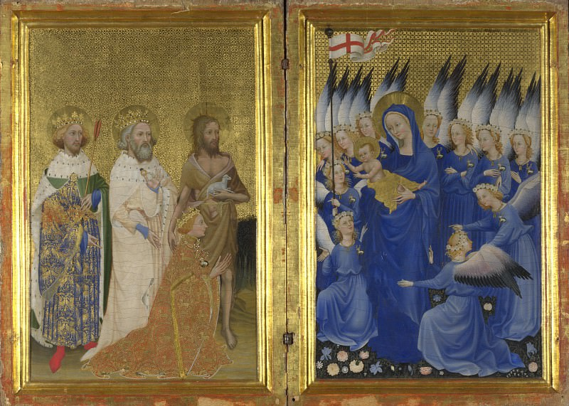 English or French - The Wilton Diptych. Part 2 National Gallery UK