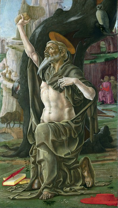 Cosimo Tura - Saint Jerome. Part 2 National Gallery UK