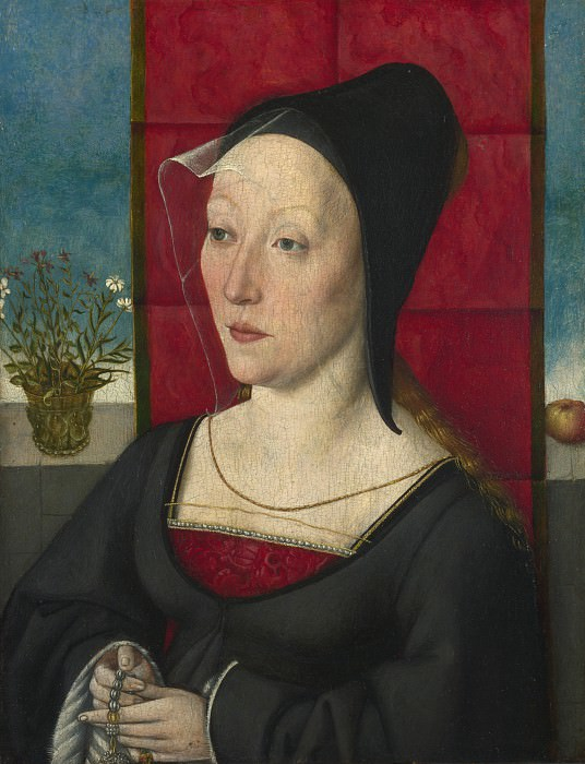 Cologne, Unknown artist - Portrait of a Woman. Part 2 National Gallery UK
