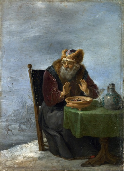 David Teniers the Younger - Winter. Part 2 National Gallery UK