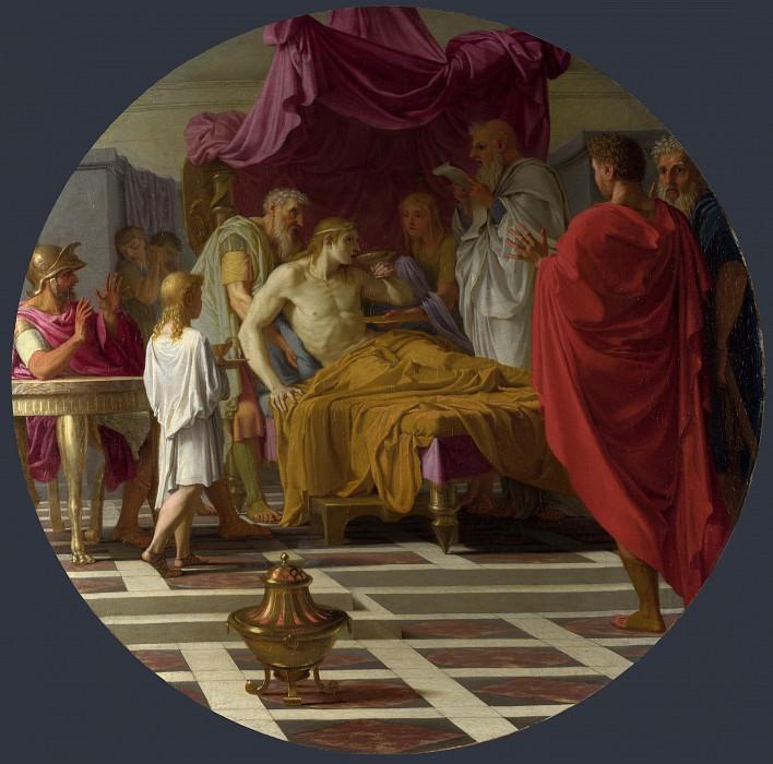 Эсташ Лесюэр - Александр и врач. Часть 2 Национальная галерея