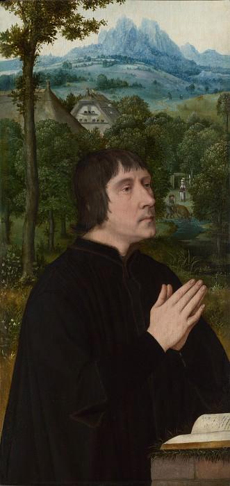 Follower of Quinten Massys - A Donor. Part 2 National Gallery UK