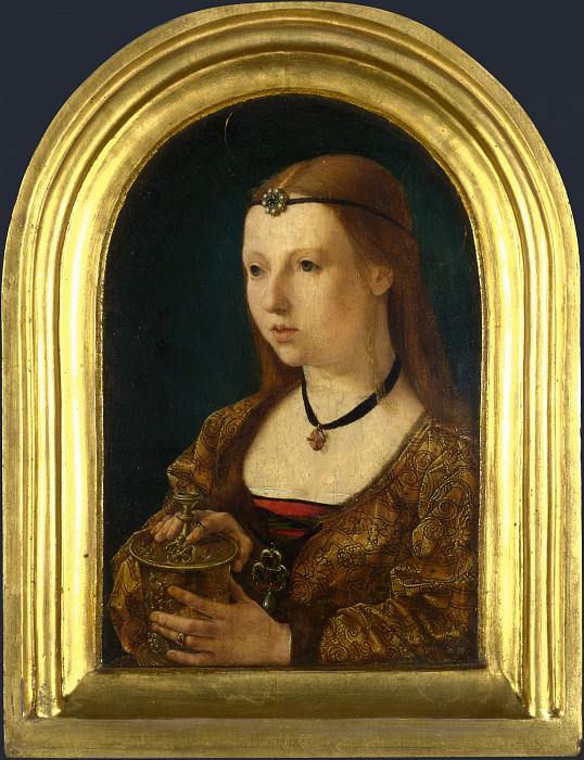 Follower of Jan Gossaert - The Magdalen. Part 2 National Gallery UK