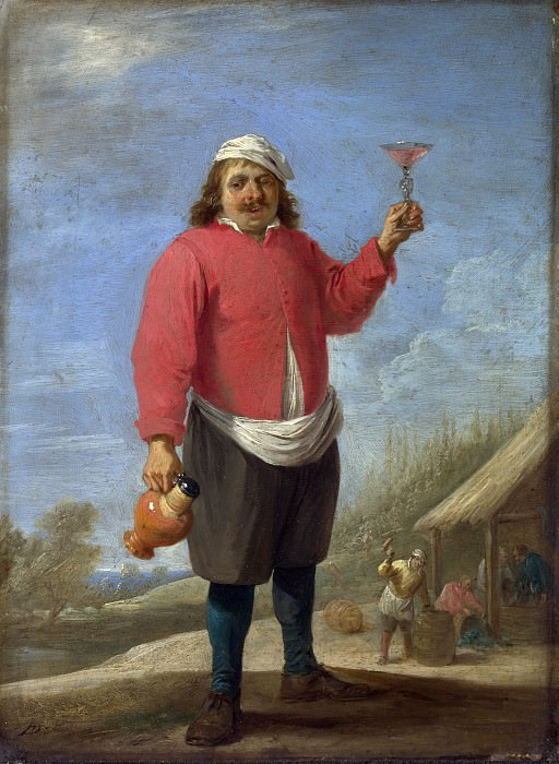 David Teniers the Younger - Autumn. Part 2 National Gallery UK