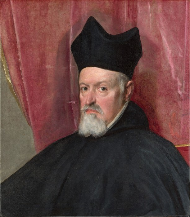 Diego Velazquez - Portrait of Archbishop Fernando de Valdes. Part 2 National Gallery UK