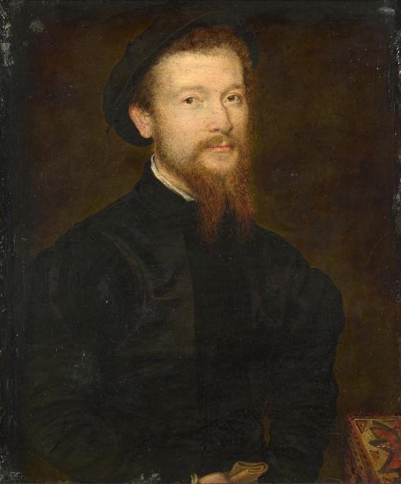 Corneille de Lyon - Portrait of a Man. Part 2 National Gallery UK