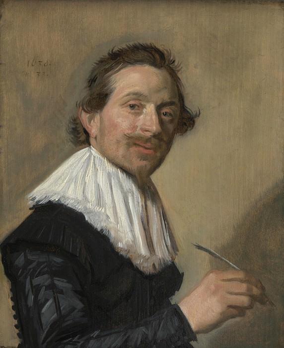 Frans Hals - Portrait of Jean de la Chambre at the Age of 33. Part 2 National Gallery UK