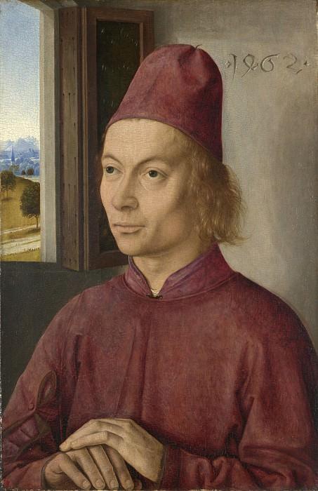 Дирк Баутс - Мужской портрет (Ян ван Винкеле). Часть 2 Национальная галерея
