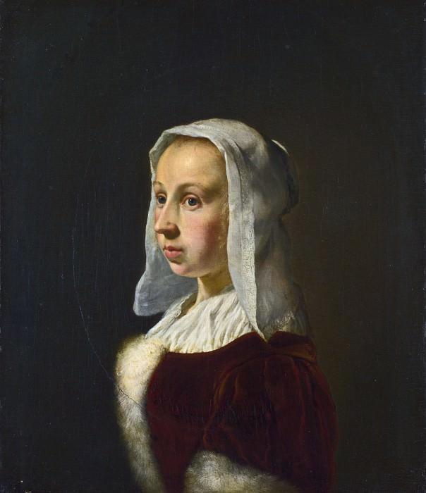 Франс ван Мирис I - Кунера ван дер Кок, жена художника. Часть 2 Национальная галерея
