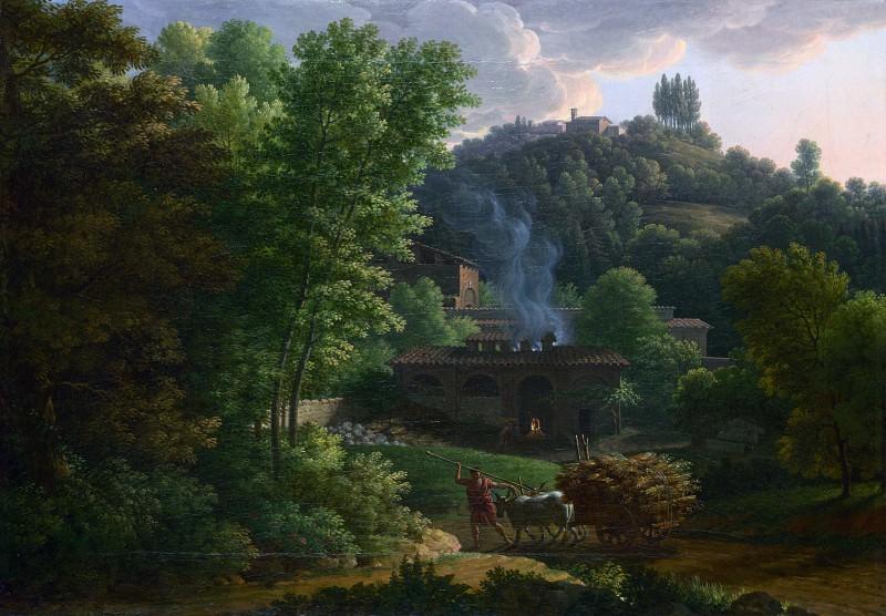 Francois-Xavier Fabre - Italian Landscape. Part 2 National Gallery UK