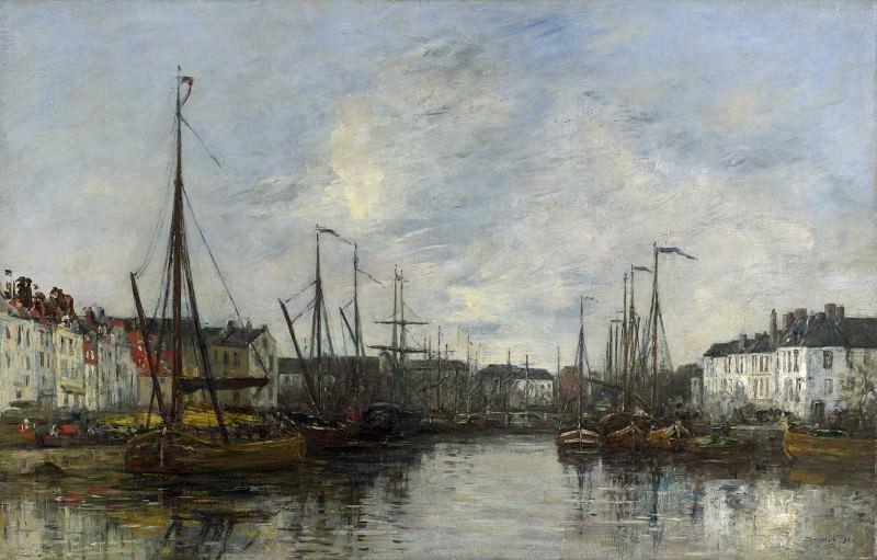 Eugene Boudin - Brussels Harbour. Part 2 National Gallery UK