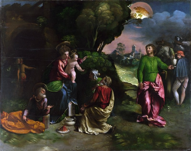 Dosso Dossi - The Adoration of the Kings. Part 2 National Gallery UK
