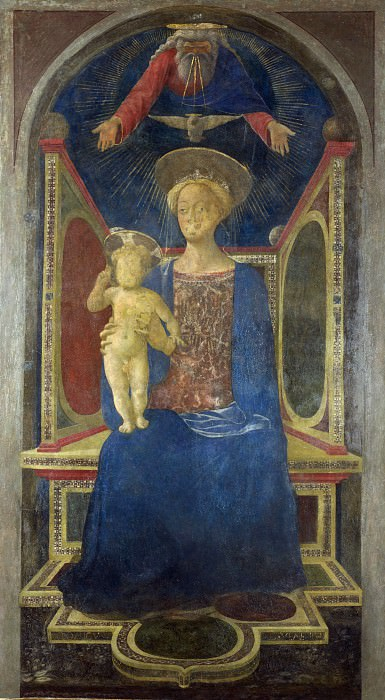 Domenico Veneziano - The Virgin and Child Enthroned. Part 2 National Gallery UK