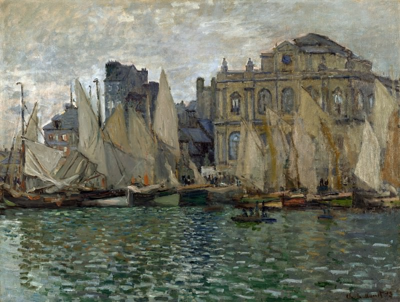 Claude-Oscar Monet - The Museum at Le Havre. Part 2 National Gallery UK