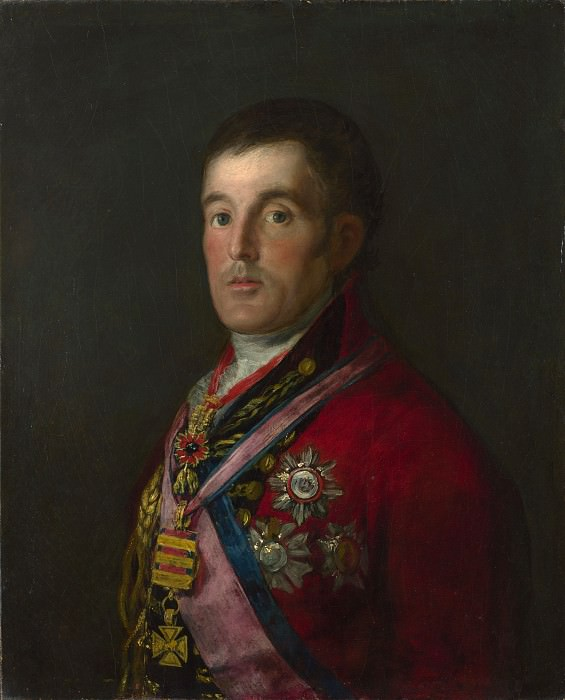 Francisco de Goya - The Duke of Wellington. Part 2 National Gallery UK